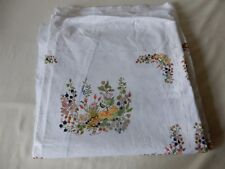 Nice Piece of Cotton Fabric Light Furnishing Weight Floral/Hedgerow Design New