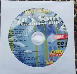 70'S SOUL CDG KARAOKE GREATEST HITS R&B ESP488-06 CHARTBUSTER WAR,SPINNERS CD+G