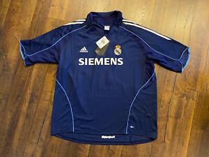 NEW Real Madrid #5 Zinedin Zidane Jersey Shirt 2005-2006 Away Kit adidas 2XL