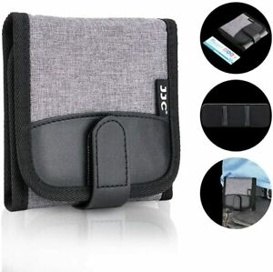 3 Pockets Camera Lens Filter Case Pouch for UV CPL ND Filter Storage Up to 82mm