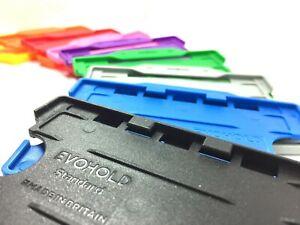 Double Sided Rigid Plastic ID Card Holder (ID Badge Holder) - Free Postage UK