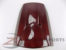 2013-2018 Honda CBR600rr Rear Upper Tail Solo Seat Cowl Fairing Carbon Fiber Red
