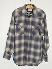 PENDLETON wool Western Wear Pearl snap front shirt CANYON sz M EXC
