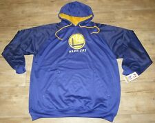 Golden State Warriors Majestic NBA Team Therma Hoodie Jacket Size Men's 3XL