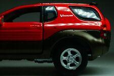 Isuzu VehiCROSS (V-Cross) 1997 SUV 4x4 Red Scale 1:43 Cararama Diecast model car