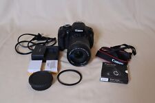 Canon EOS Rebel T3i DSLR Digital Camera Zoom Lens 1:3.5-5.6 67mm *BUNDLE* Black