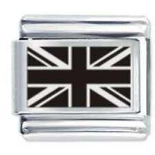 UNION JACK UK FLAG * Daisy Charms Fits Nomination Classic Size Italian Charm