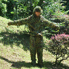 3D Woodland Tarnanzug Tactical Ghillie Suit Abdeckung Yowie Camo Camouflage Jagd