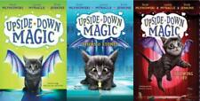 UPSIDE DOWN MAGIC Children's Fantasy Series HARDCOVER Collection of Books 1-3