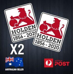 Holden Australian 1856 - 2020 Retro Vinyl Sticker Decal