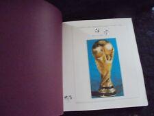 Briefmarken-Album Fußballweltmeisterschaft Italien 1990