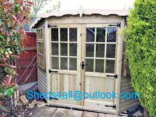 6x6 Summer house Shed Garden Office Corner Summerhouse T&G Tanalised