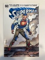 Superman Volume 1: Before Truth - DC Comics Trade Paperback Graphic Novel - NEW!