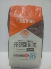 Bulletproof French Kick Dark Roast Ground Coffee 12oz  EXP: 11/04/2020