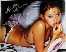 Estella Warren Signed 8x10 Photo Victoria Secret Model Beauty & The Beast C
