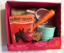 """AG Our Generation Horse Feeding Set Treats 18"""" Girl Doll HORSE Accessories NEW!"""