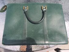 Auth Louis Vuitton Dokyuman Lushan Business Leather Taiga Episea Briefcase $2910