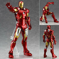 Figma 217 Marvel's The Avengers Iron Man Action Figure Toy Doll Model In stock