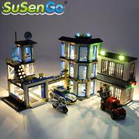LED Light Up Kit For LEGO 60141 City Series Police Station Lighting Set bricks