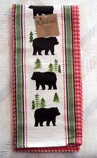 Bear Waffle Tea Towel Simple Living Bear Pattern Kay Dee