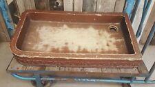 Giant Vintage antique butlers Belfast farmhouse kitchen salting sink