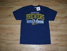 Milwaukee Brewers vtg T-Shirt men's size-Large NWT Old logo Baseball Tee