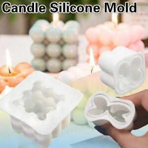 Kerze Silikon Kerzengießform Kerzenform Gießformen Körper Wolken Bubble Würfel