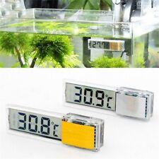 Aquarium Thermometer Digital LCD Electronic Fish Tank 3D Temperature Sticker Us