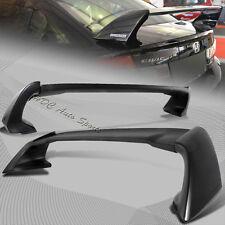 For 2012-2015 Honda Civic 4-DR MUG Style Unpainted Black Rear Trunk Spoiler Wing