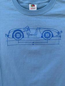KIDS / YOUTH PORSCHE 550 SPYDER T-SHIRT PCA POC RACING SCCA ALMS IMSA F1 356 GT