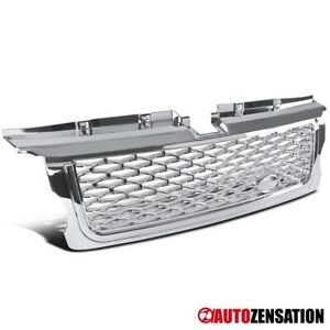 For 2006-2009 Land Rover Range Rover Sport Chrome ABS Mesh Front Hood Grille 1PC