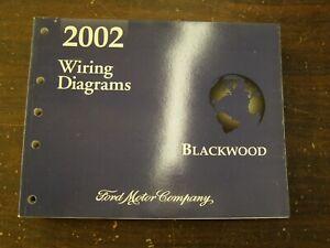 OEM 2002 Lincoln Blackwood Truck Pickup Shop Manual Wiring Diagram Book NOS