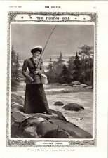 1906 Miss Ruth Vincent Archery Miss Grace Pindar Fishing