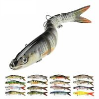 Fishing Bait Lures Sinking Wobblers Jointed Crankbait Swimbait Artificial 14cm
