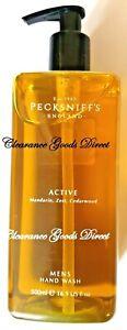 Pecksniff's England Active Mandarin est Cedarwood Men's Hand Wash 500ml