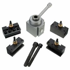 Simple Combination Mini Quick Change Tool Post Set-Aluminium Material