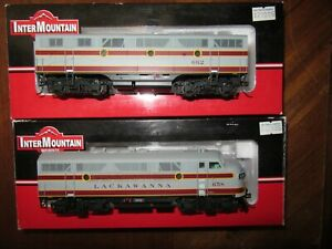 Intermountain Lackawanna   F3A & F3B HO Locomotive w/DCC & Sound
