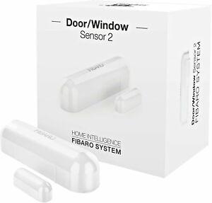 FIBARO - Z-Wave Plus DOOR AND WINDOW Sensor 2, FGDW-002-1 (White)