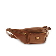 The Bridge Story Marsupio Uomo 5 tasche con Zip Cuoio Marrone 07800101 14
