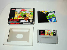 ASTERIX in box snes super nintendo videogame