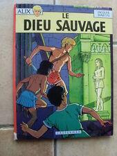 bd Jacques Martin LE DIEU SAUVAGE 1970 ( 1ère réédition ) cotée