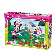 50 Piece Disney Jigsaw Puzzle Minnie Mouse & Daisy Duck In the Garden 05147A