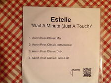 Estelle Wait a minute (just a touch) remixes 4 track promo CD