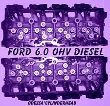 FORD 6.0 TURBO DIESEL F350 TRUCK CYLINDER HEADS 20mm CAST #613 ONLY 06&UP REMAN