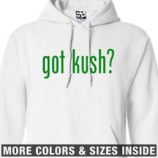 Got Kush? HOODIE - Hooded Purple Purp Marijuana Sweatshirt - All Sizes & Colors