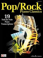 Pop Rock Piano Classics Sheet Music 19 Note-for-Note Piano Transcripti 002501152