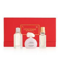 L'Occitane Mini Fragrance Set Neroli Orchidee Terre De Lumiere CherryBlossom EDT