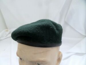 OLD BRITISH ARMY ISSUE RIFLES GREEN BERET SIZE 54