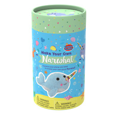 Make Your Own Plush Narwhal Sewing Kit for Kids children