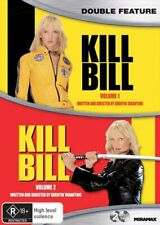 Kill Bill Volumes 1 and 2 DVD Region 4 QuentinTarantino